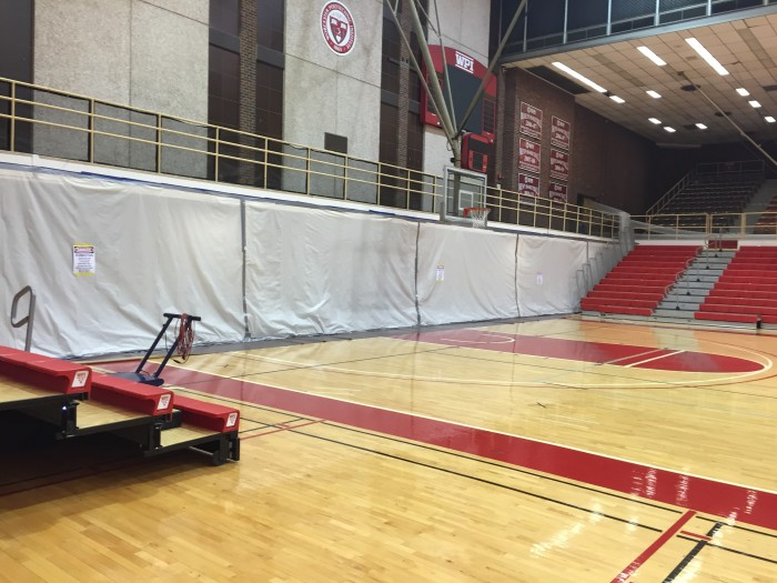 Asbestos Removal at WPI Gymnasium
