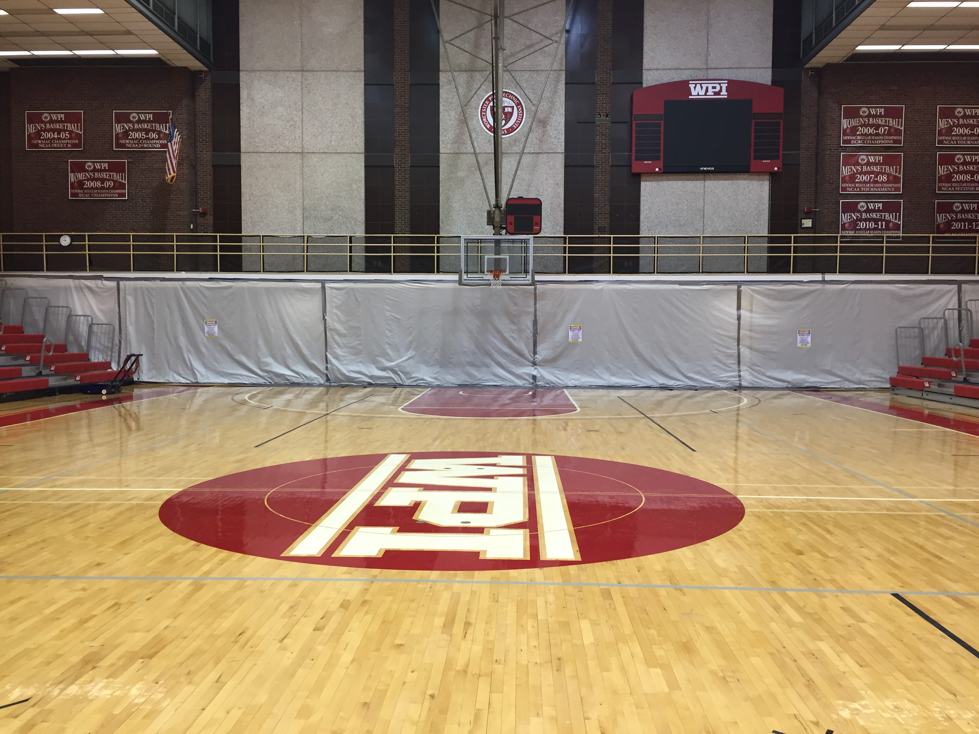 WPI – Harrington Gymnasium – Asbestos Abatement