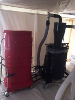 vermiculite removal system